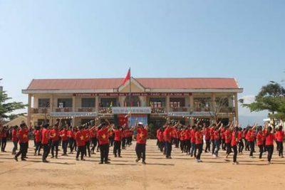 Tiết mục dân vũ Việt Nam ơi