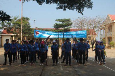Đoàn trường PTDTNT THCS -THPT Huyện Đăk Glong – Ngày chủ nhật xanh ý nghĩa